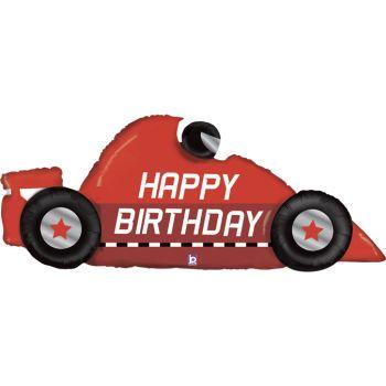 Ballon hélium formule 1 Happy Birthday