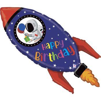 Ballon hélium fusée