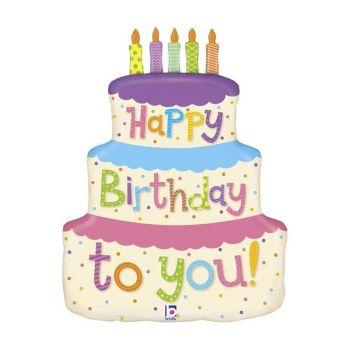 Ballon hélium Cake Birthday