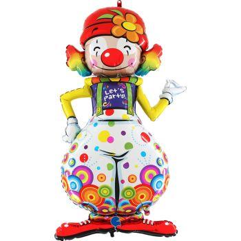 Ballon hélium Clown géant