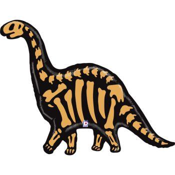 Ballon hélium squelette brontosaure