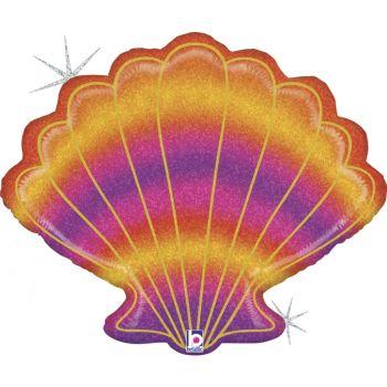 Ballon hélium coquillage