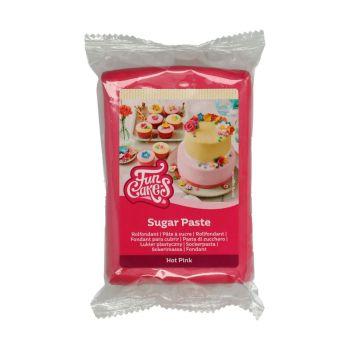 Pâte à sucre Funcakes Fuchsia 250gr