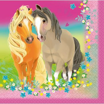 20 Serviettes Pretty Pony