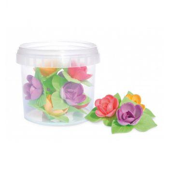 8 Mini roses azymes Scrapcooking