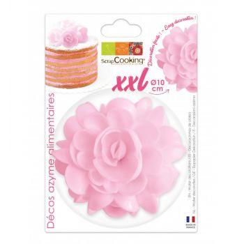 Fleur azyme rose XXL Scrapcooking