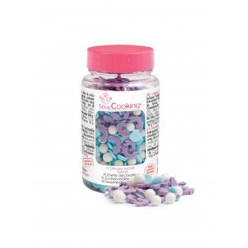 Confettis en sucre Sirène Scrapcooking 55g
