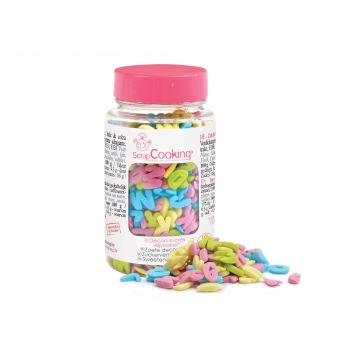 Confettis en sucre Alphabet Scrapcooking 55g