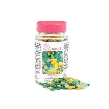 Confettis en sucre Tropical Scrapcooking 55g