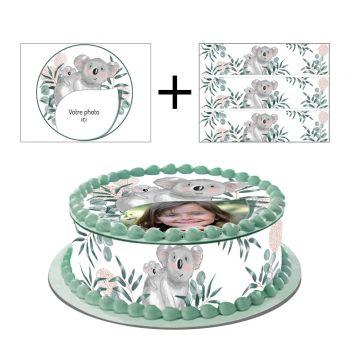 Kit Easycake pour gâteau personnalisé Koala