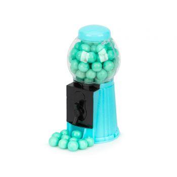Mini distributeur à chewing gum bleu