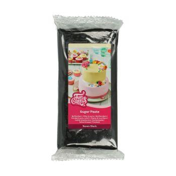 Pâte à sucre Funcakes noire1 Kg