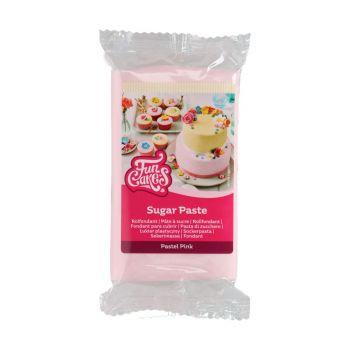 Pâte à sucre Funcakes rose pastel