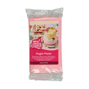 Pâte à sucre funcakes rose