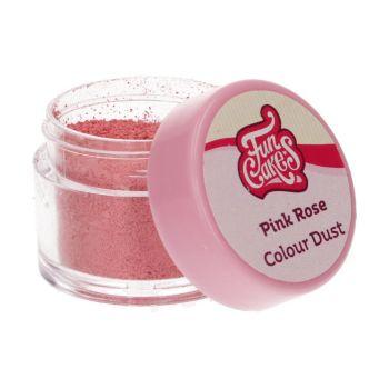 Colorant en poudre Funcakes rose