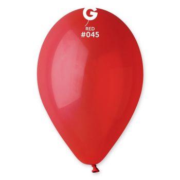 10 Ballons rouge foncé Ø30cm