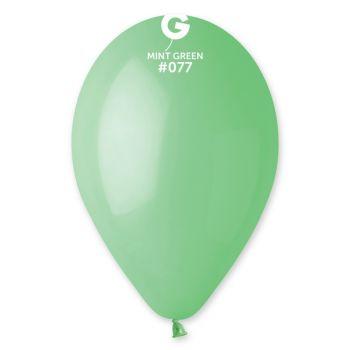 10 Ballons mint Ø30cm