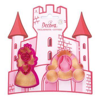 2 Emportes pièce princesse