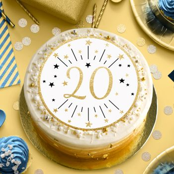 Disque sucre or 20 ans