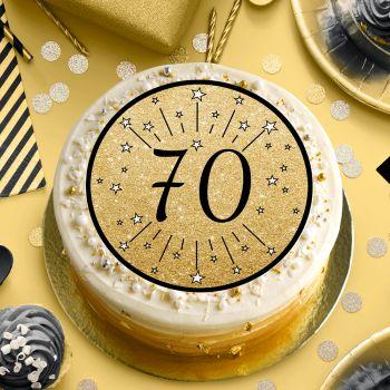 Disque sucre noir 70 ans