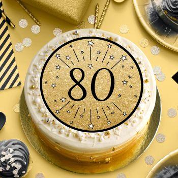 Disque sucre noir 80 ans