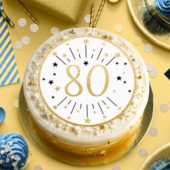 Disque sucre or 80 ans