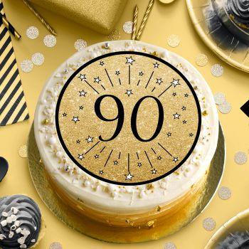 Disque sucre noir 90 ans
