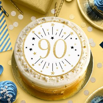 Disque sucre or 90 ans
