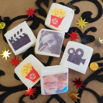 48 Guimize carrés personnalisés photo décor cinéma