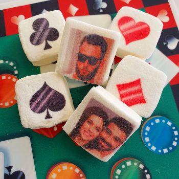 48 Guimize carrés personnalisés photo décor Casino