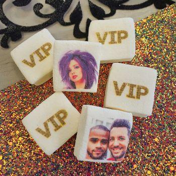 48 Guimize carrés personnalisés photo décor VIP