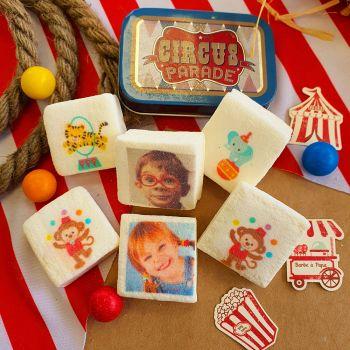 48 Guimize carrés personnalisés photo décor Animaux du cirque
