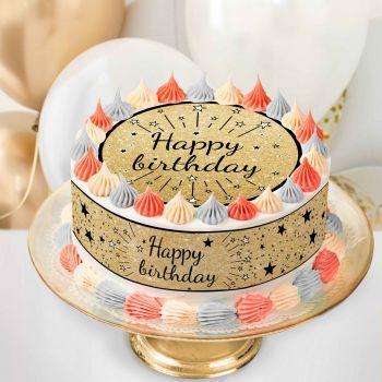 Kit Easycake Happy Birthday Noir