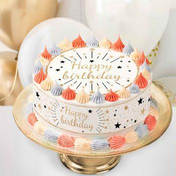 Kit Easycake Happy Birthday or