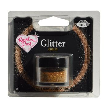 Paillettes alimentaires Or
