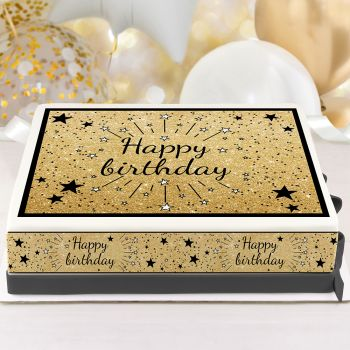 Kit Easycake Happy Birthday noir A4