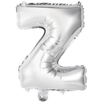 Mini Ballon alu lettre Z argent