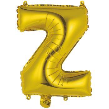 Mini Ballon alu lettre Z or