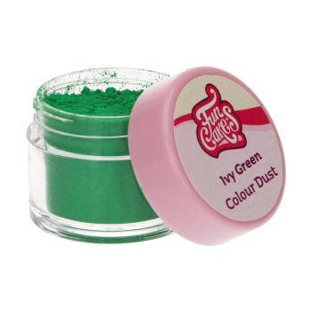 Colorant en poudre Funcakes vert lierre