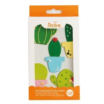 Décors en sucre Cactus