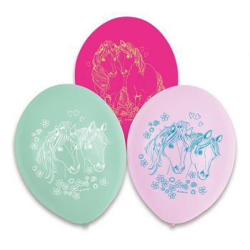 6 Ballons Pretty Pony