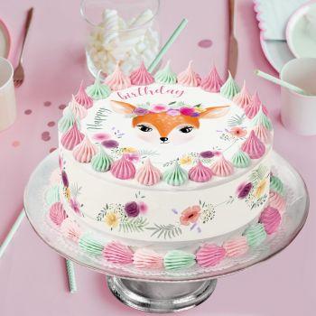 Kit Easycake Ma biche Happy birthday
