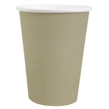 10 Gobelets compostables rainbow taupe
