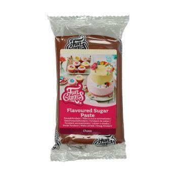 Pâte à sucre Funcakes saveur chocolat