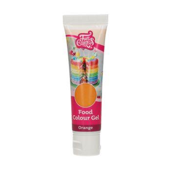 Colorant alimentaire en gel Funcakes orange