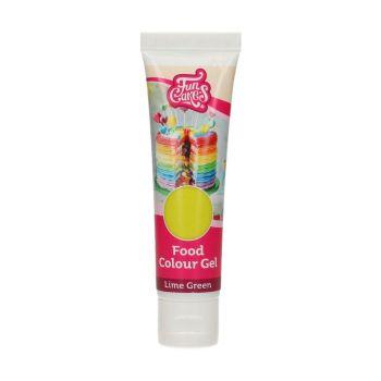 Colorant alimentaire en gel Funcakes vert lime