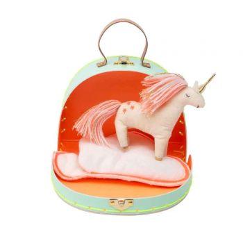 Mini valise peluche Bella la Licorne