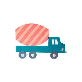 16 serviettes camion chantier