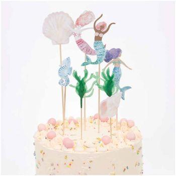 Cake topper Sirène