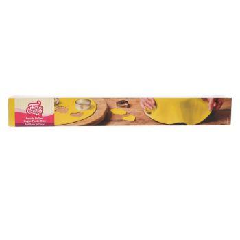 Pâte à sucre étalé Funcakes jaune